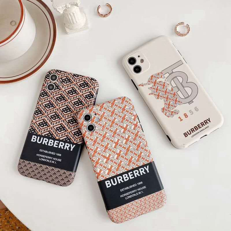 Burberry/バーバリー iphone 12/12mini/12pro/12 pro maxケース