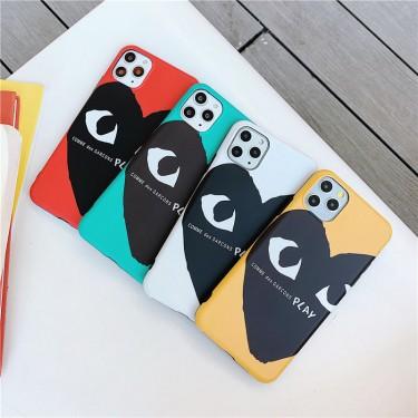 CDG ブランド iphone12 mini/12/12pro/12pro maxケース かわいい ペアお揃い コムデギャルソン アイフォン12 pro/12 pro maxケース iphone 12/11/xs/x/8/7ケースiphone xr/xs max/11proケースブランド