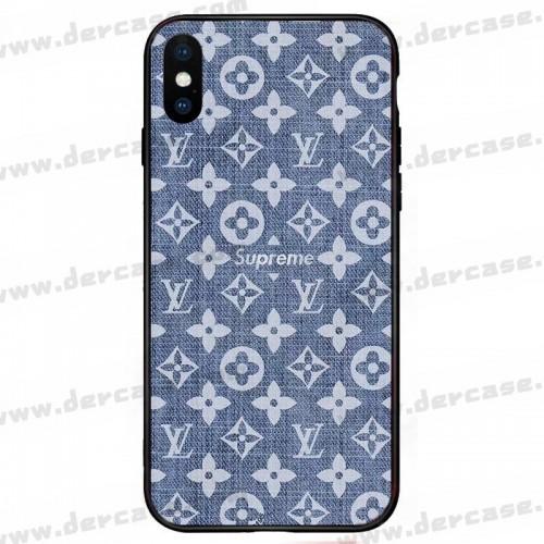 ヴィトン シュプリーム コラボ デニム 赤 Galaxy A51 AQUOS sense 4/4 Plusケース iphone 12 mini AQUOS zero 5G basicカバー xperia 5 ii 1 ii 10 iiケースジャケットスマホケース コピー