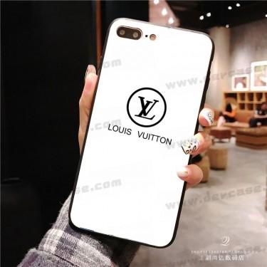 ルイヴィトン 全機種対応 xperia 1/5ii/10iiiケース 黒白色 ブランド Galaxy s21/s20/note20ケース Louis Vuitton シンプル iphone 12 mini/12 pro/12 pro maxカバー ガラス AQUOS ZERO 5G/R5G/SENSE 5G/4/4 PLUSカバー レディース