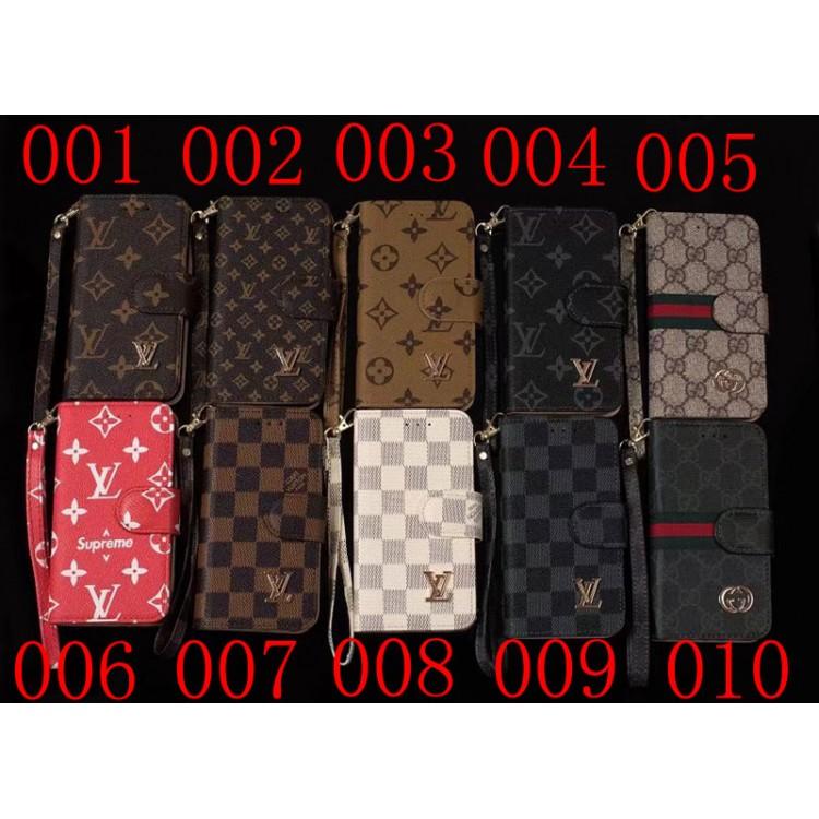 ルイヴィトン グッチ 手帳型 iphone12 mini/12 pro max/12ケース ブランド ストラップ付き Supreme シュプリーム galaxy note20 ultra/s21/s20+カバー lv gucci ビジネスマン iphone 12/11/11 pro max xs/xrカバー メンズ レディース