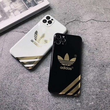 Adidas/アディダス iphone 12 mini/12 pro/12 pro max/11/xs/x/8/7 plusケースビジネス ストラップ付き ファッション経典 メンズiphone x/8/7 plusケース大人気