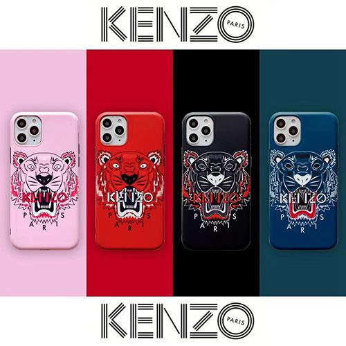 ケンゾー 虎頭 iphone12 mini/12 pro/12 pro max/11/11 pro maxケース 韓国風 kenzo ブランド 芸能人愛用 アイフォン12ミニ/xr/xs maxカバー