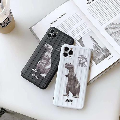 Stussy/ステューシー 人気ブランド iphone12/12mini/12pro/12pro maxケース 韓国風 スーツケース型 メンズ iphone12/11pro maxケース 安いレディース アイフォiphone12/xs/11/8 plusケース おまけつき