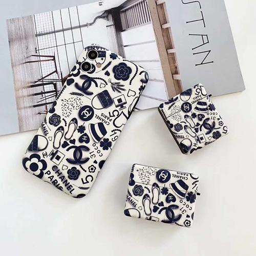 Chanel/シャネル ブランド iphone 12/12mini/12pro/12pro maxケース シンプル スーツケース型 エアポッド1/2/3/pro Airpods ジャケット型 アイフォン11/x/xr/xs max/11proケース  LINEで簡単にご注文可