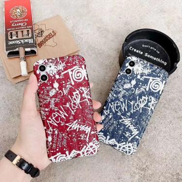 ステューシー iphone 12 mini/12 pro max/12/12 proケース 韓国風 ブランド スーツケース型 Stussy 激安 iphone 11/11 pro/11 pro maxケース モノグラム アイフォンx/xr/xs/xs max/7/8 plus/se2ケース メンズ レディース