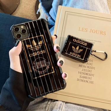 Adidas/アディダスブランド iphone12 mini/12/12pro/12pro max/11pro maxケース かわいい Airpods 1/2/3/pro エアポート iphone xr/xs max/11proケース ブランドジャケット型 2020 iphone12ケース 高級 人気