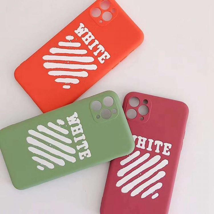オフホワイト ブランドiphone 12 mini/12 pro max/11/se2ケース シンプル OFF WHITE iPhone 11/11 pro/11 pro maxケース 韓国風 アイフォンx/xs/xr/8/7/6カバー 7色 レディース愛用