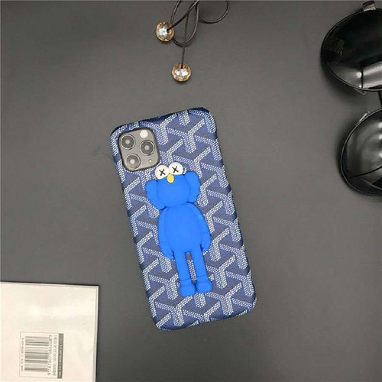 ゴヤール Galaxy A51/S21/S21+/S21 ultra/s20+/s20 ultraケース ブランド 3D 激安 Goyard カウズ iphone 12 pro/12 mini/12 pro max/11 pro/11 pro max/se2ケース KAWS ジャケット型 アイフォン12/11/x/xs/xr/8/7スマホケース コピー Huawei p40/MATE40カバー メンズ レディース
