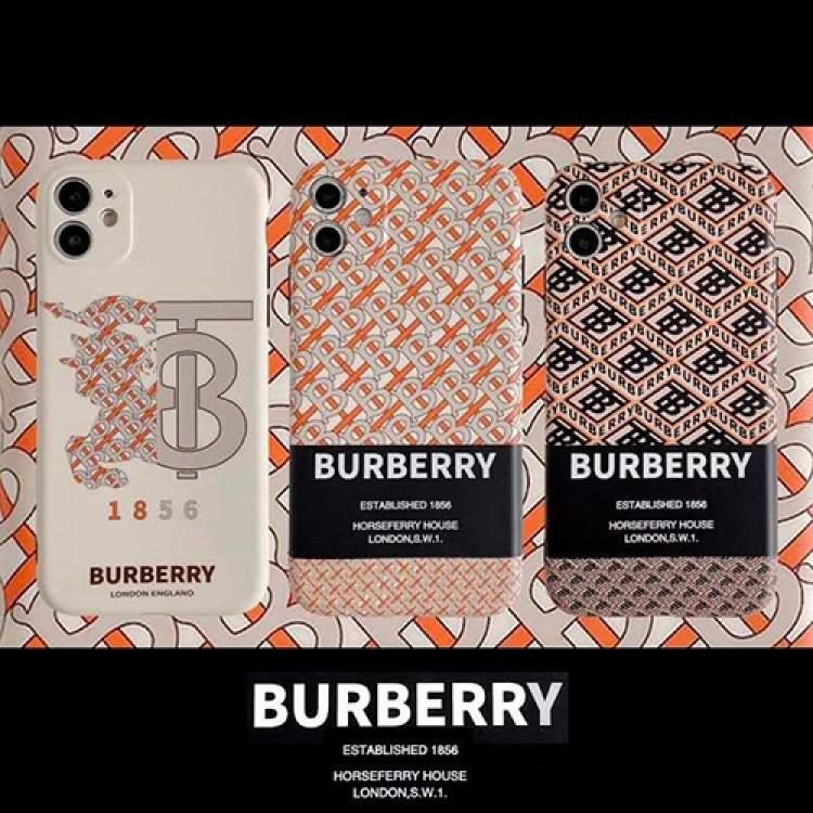 バーバリー ブランド iphone 12mini/12 pro max/11ケース セレブ愛用 iphone12/12pro/11pro max/xr/xs maxケース Burberry 激安 アイフォン12/11/xs/x/8/7 plusケース 女性向け ファッション 経典 メンズ レディース