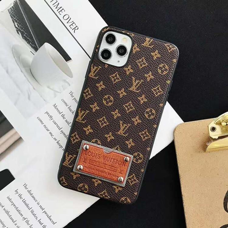 ルイ·ヴィトン ハイブランド iphone 12 mini/12 pro max/11 pro max/se2ケース 韓国風 lv モノグラム 全機種対応 Galaxy S21/S20+/Note20/Note9/Note8ケース リベット付 タッグ型 アイフォンx/xs/xr/7/8 plus/se2カバー 可愛い HUAWEI P40ケース コピー