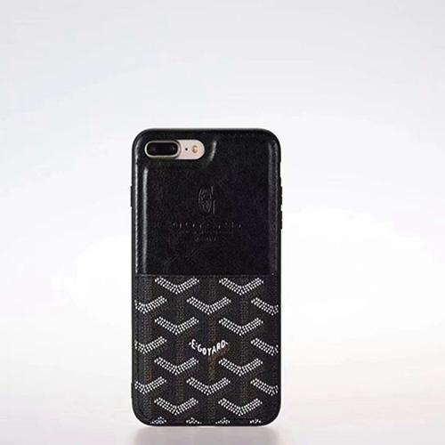 ゴヤール ブランド iphone 12 mini/12 pro max/11 pro max/se2ケース お洒落 モノグラム レザー 縫い カード入れ 全機種対応 Goyard 激安 セレブ愛用 パロディ アイフォン12/12 pro/11/11 pro/x/xs/xr/8/7カバー メンズ レディース