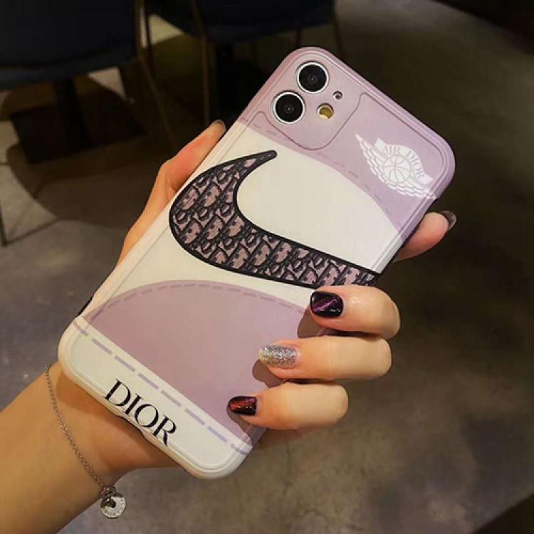 Dior ディオール ハイブランド iphone 12 pro/12 mini/12 pro max/11 proケース 個性 スニーカー Nike ナイキ モノグラム セレブ愛用 全機種対応 韓国風 ジャケットケース パロディ iphone12/11/11 pro max/X/XS/XR/7/8 plus/se2スマホケース コピー