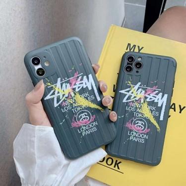 ステューシー ブランド iphone12 mini/12/12pro/12pro maxケース Stussy かわいい スーツケース型 女性向け iphone 11/12 pro max/xr/xs maxケース ジャケット型 iphone12ケース 高級 人気