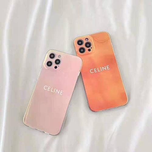 Celineセリースブランド iphone 13/12 mini/12 pro/12/12pro maxスマホケース tpu製透明カバーケースレディース向け可愛いお洒落 シンプルジャケット型 アイフォン11/11 pro/11 pro maxケース韓国風人気ケース