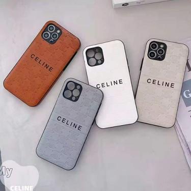 セリース ブランド iphone13/12 pro/12 pro max/12 ケースモノグラム型押し Celineアイフォン11/11 pro/11 pro maxスマホケース シンプル エンボス おしゃれiphone x/xs/xr/xsmaxケース ファッション メンズ レディース