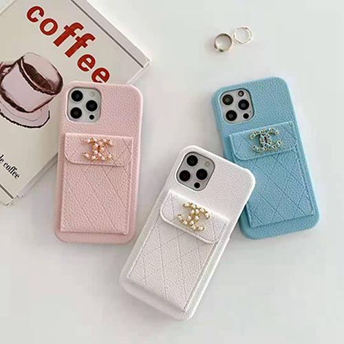 ブランド風シャネル Iphone13/Iphone12/12 pro/12 mini/12 pro max/11/11 pro/11 pro max/se2レディース向けケース ブランド手帳型おしゃれ贅沢スマホケース女用カードパッケージ付き