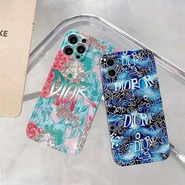 Dior ディオールブランドiphone13/ iphone 12s/12 pro/12 pro maxケース 美しい 復古風 フラワー柄  お洒落 iphone 11/11pro/11pro max カバー 精巧 プリント iphone xr/xs/x/xs maxケース 圓角保護 かわいい ジャケット型 レディース メンズ