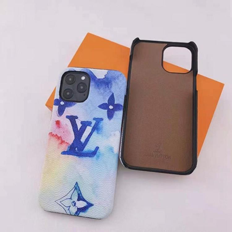 LVルイヴィトンブランドiphone13/ iphone 12/12 pro/12 pro max/12 mini ケース水彩絵きれいアイフォン11/11pro/11 pro max/se2ケースジャケット型韓国おしゃれGalaxy S21 ケース個性iphone xr/xs/x/xs maxケースファッションメンズレディース