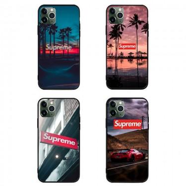 シュプリーム ブランド iphone12/12 pro/11/11pro maxケース かわいい個性潮 iphone x/xr/xs/xs maxケース ファッションins風  Galaxy s10/s20+/s20 ultraケース かわいい HUAWEI Mate 30 Pro 5Gケース大人気