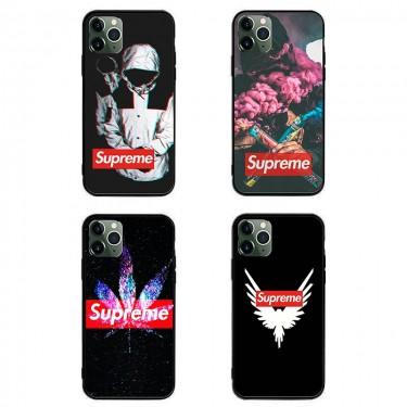 シュプリーム iphone12/12 mini/12 pro/12 pro maxケース ins風 全機種対応 ウォレット Galaxy note20/s10/s20+ケース高級 人気かわいい モノグラム 個性潮 iphone x/xr/xs/xs maxケース ファッションモノグラム ペアお揃い アイフォン12/11pro maxケース ブランド