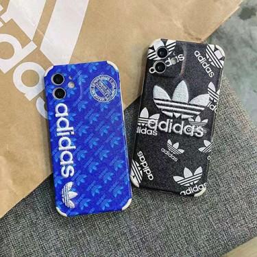 アディダス iphone 12/12pro max/se2ケースアディダス iphone xr/xs maxケースブランド adidas iphone 11R/11 MAX/12ケース 運動風 アイフォンX/8/7 plusケーストランクデザインオシャレファッションメンズレディース兼用