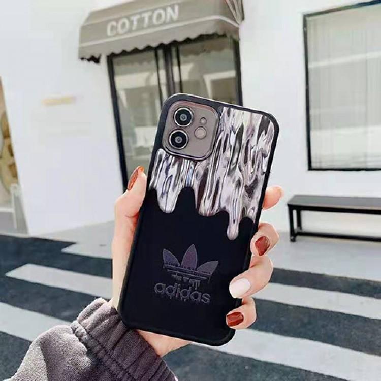 アディダス ブランド iphone 12/12 pro/12 pro maxケース ナイキ男女兼用人気 iphone11/11pro maxケース 個性 潮流iphone x/xr/xs/xs maxケースファッション ins風