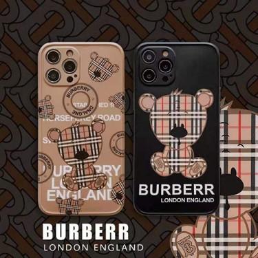 バーバリー アイフォンiphone 12/12 miniケース ファッション経典 ブランド メンズ 個性熊潮 iphone 12 pro/12 pro maxケース BURBERRY ファッションメンズ iphone11/11pro max/x/xs/xr/8/7ケース 高級 人気