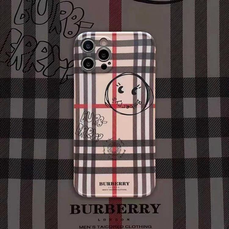 バーバリー ペアお揃い アイフォン12/12 miniケース スティック風 モノグラム BURBERRY 人気ブランド iphone 12 pro/12 pro max/11/11pro maxケース ジャケット iphone xs/x/8/7ケース 男女兼用