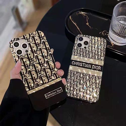 Dior メッキ柄 iphone 12 mini/12 pro max/11 pro max/se2ケース ブランド おしゃれ ディオール きらきら ジャケット型 モノグラム アイフォン12/12 pro/11/11 pro/x/xs/xr/8/7カバー メンズ レディース