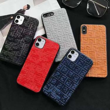 フェンデイ ブランド iphone12/12pro maxケース かわいい ビジネス 縫い布製 個性潮 おまけつき iphone x/xr/xs/xs max/8plusケース ファッション アイフォンIphone xr/11/11pro maxケースカバー バッグ型 レディース