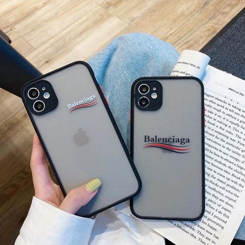バレンシアガ ブランドiphone11/11pro/11pro maxケース 個性潮流オシャレ人気 iphone 12 /12 pro/12 mini/12 pro maxケース男女兼用ファッション