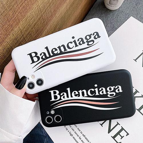 バレンシアガ ブランドiphone 12/12 pro/12 max/12 pro maxケース ファッションシンプル個性潮iphone x/xr/xs/xs maxケースファッション新品可愛い