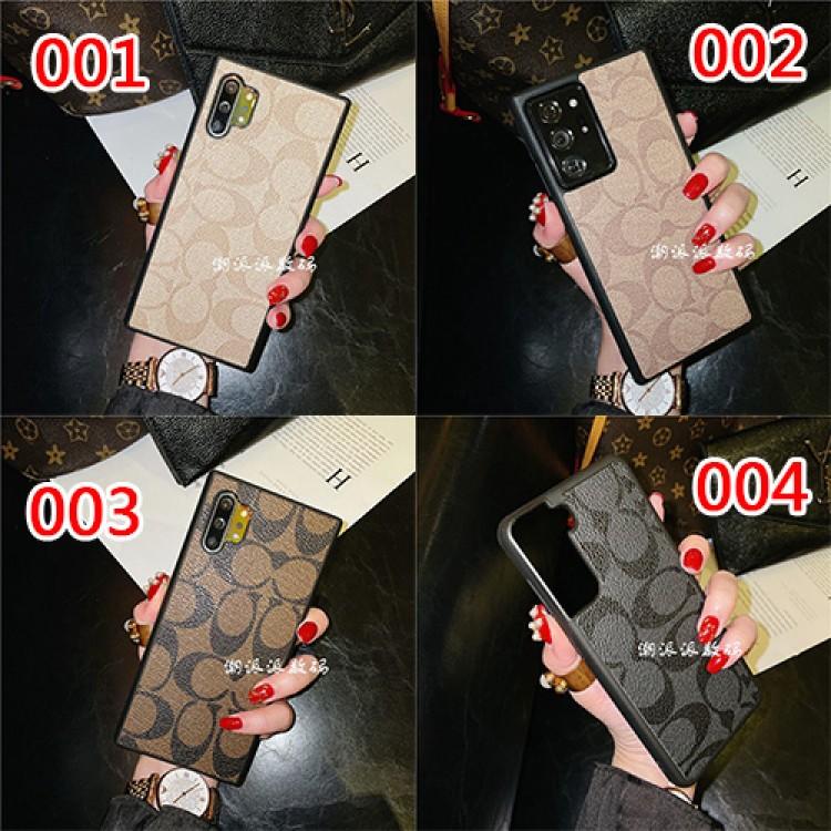コーチ 贅沢風 Galaxy S21/S21 ultra/S20 ultra/A51/A32/note20 ultra/note10ケース かわいい ブランド COACH レザー感 おまけつき 経典柄 iphone12 mini/12 pro/12 pro max/11 pro/11 pro maxスマホケース ファッション アイフォン12/11/x/xs/8/7 plus/se2ケース 四角保護 メンズ レディース