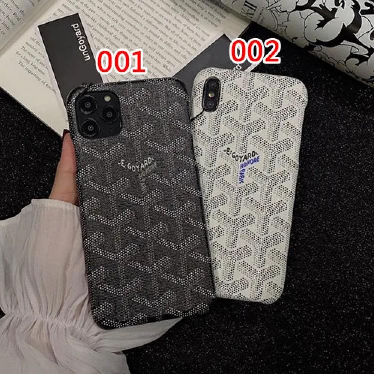 ゴヤール ブランド iPhone 12 pro/12 mini/12 pro max/11 pro/11 pro max/se2ケース GOYARD 可愛い レザー製 モノグラム Galaxy S21/S21+/S21 ultra/A51/s20/s20+/s20 ultra/note20/note10カバー シンプル ジャケット型 アイフォン12/11/x/xs/xr/8/7カバー お洒落 人気 メンズ レディース