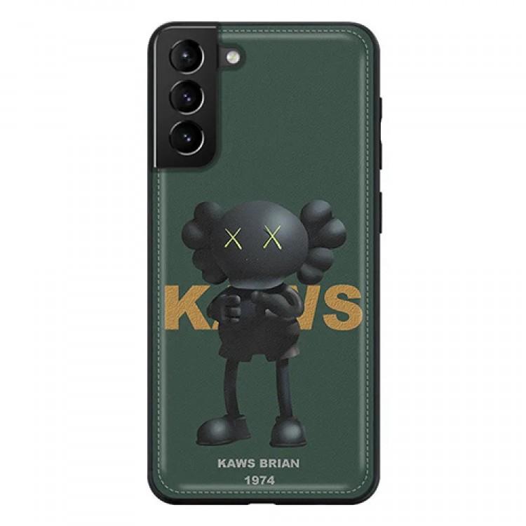KAWS/カウズ 人気ブランド iphone12/12 pro/12 pro max/11 pro maxスマホケース レザー Galaxy S21/S21+/S21 ultra/s20/s20+/s20 ultra/s10/note20ケース シンプル kaws brian 韓国風 アイフォン12 mini/11/x/xs/xr/8/7/se2カバー 2021 衝撃吸收 高級 メンズ レディース