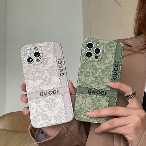 gucci グッチ iphone 13/12 pro/12 pro max/12 スマホカバー おしゃれ 浮彫図案 アイフォン11/11 pro/11 pro maxケース上質 GUCCI 刺繍 iphone xr/xs/x/xs maxケース かわいい 韓国スタイル シンプル高級 レディース ファッション メンズ