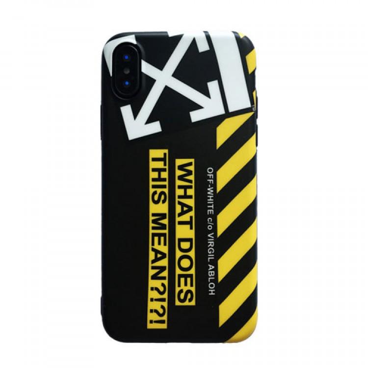 Off white/オフホワイトiphone12/12mini/12pro/12pro maxケース 個性潮流ファッション セレブ愛用 iphone12 mini/11pro maxケース 激安アイフォン12カバー レディース バッグ型 ブランド