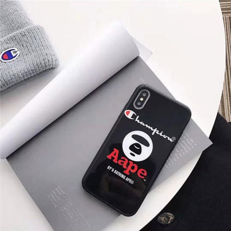 STUSSY/ステューシー ,CHAMPION/チャンピオン かわいい男女兼用人気ブランド iphone11 pro/11/x/xs/xrケースシンプル iphone11/8/7ケース ジャケット