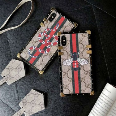 GUCCI/グッチ シンプルiphone12/12mini/12pro/12pro max ケース ジャケットアイフォン12カバー レディース バッグ型 ブランドGalaxys10/s9 plusケースiphone x/8/7 plusケース大人気