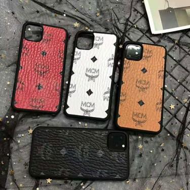 MCM/エムシーエム個性潮 iphone 12/12mini/12pro/12pro maxケース ファッションiphone xr/xs max/11proケースブランドアイフォン12カバー レディース バッグ型 ブランド