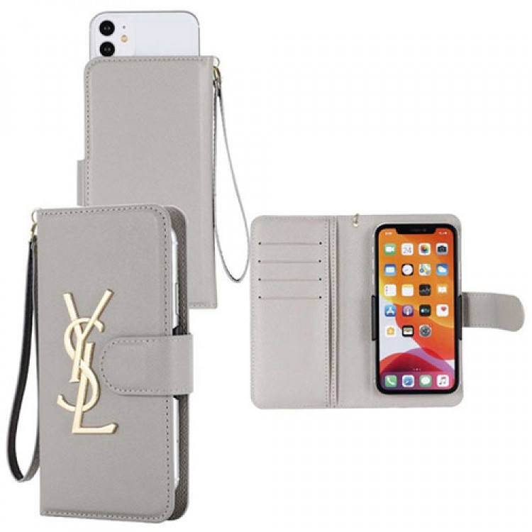 YSL ブランド ペアお揃い アイフォンiphone12/12 mini/12 pro/12 pro maxケース イヴサンローラン 手帳型 Galaxy S20/S20 ultra/a51/a30/a20/note20 ultra/note9ケース全機種対応 アイフォンAQUOS Zero5G Basic/R5G/sense4ケース ファッション経典 メンズ個性潮 huawei mate40ケース ファッション