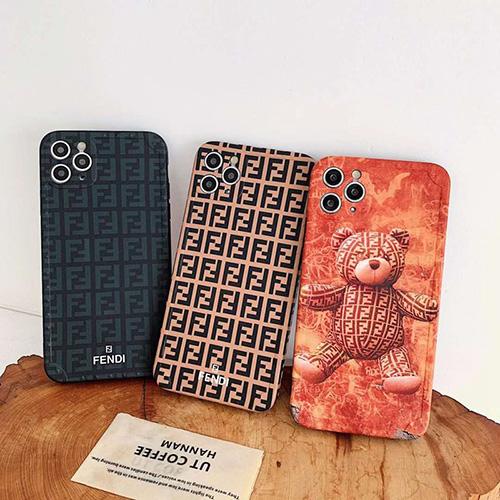 FENDI/フェンディ女性向け iphone12 mini/12/12pro/12pro maxケースiphone 11/x/8/7スマホケース ブランド LINEで簡単にご注文可シンプル Iphone xr/11/11pro maxケース ジャケット
