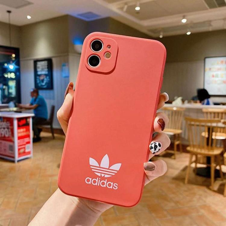 Adidas/アディダスiphone 12/12mini/12pro/12pro maxスマホケース ブランド LINEで簡単にご注文可 トレフォイル 三つ葉 ビジネス シロツメクサ シンプルiphone xr/xs max/11proケースブランドモノグラム iphone12/11pro maxケース ブランド