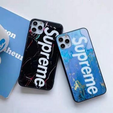 SUPREME/シュプリーム iphone12/12mini/12pro/12pro maxケース ビジネス ストラップ付きシンプル iphone12/x/xs/xrケース ジャケットiphone 12 mini/12 pro maxケース ファッション