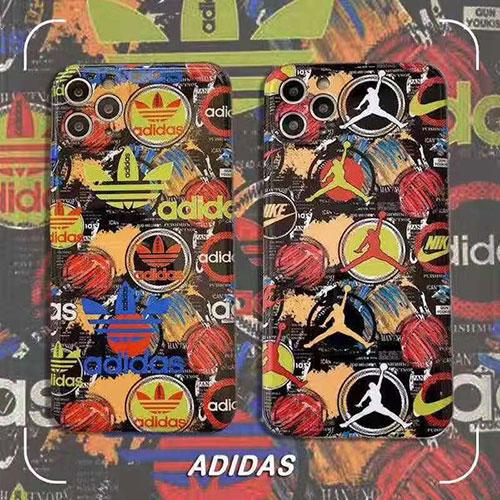 アディダス iphone 12/12 pro/12 mini/12 pro max/11/11 pro/11 pro max/se2ケース 可愛い jordan スポーツ風 nike ナイキ adidas エア air ジョーダン 耐衝撃 モノグラム アイフォンx/xs/xr/8/7/6カバー パロディ ファッション メンズ  レデイーズ