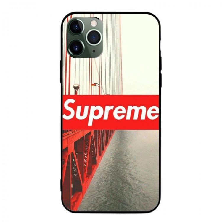 Supreme ブランド AQUOS Zero5G Basic/R5G/sense4ケース 背面ガラス シュプリーム 都市風 ジャケット型 ブリッジ柄 iphone 12mini/12pro max/11 pro max きらきら xperia 1 II/5ii/10ii 有色煙 モノグラム Galaxy S20/a51/a30/note20/note20 ultraケース 全機種対応 ins風 シンプル huawei p40 シンプル レディース