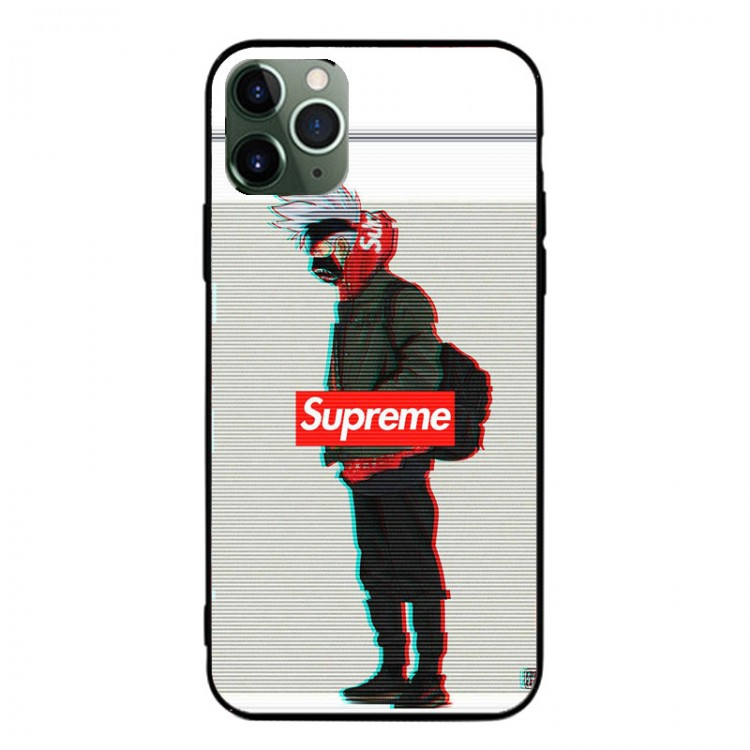 Supreme ブランド AQUOS Zero5G Basic/R5G/sense4ケース 背面ガラス シュプリーム 孫悟空 ジャケット型 カカシ iphone 12mini/12pro max/11 pro max きらきら xperia 1 II/5ii/10ii ナルト モノグラム Galaxy S20/a51/a30/note20/note20 ultraケース 全機種対応 ins風 シンプル huawei p40 シンプル レディース