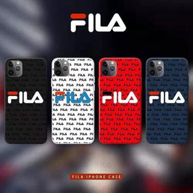 FILA フィラブランド iphone12/12 mini/12 pro/12pro maxケース かわいいレディース アイフォiphone12/xs/11/8 plusケース おまけつきアイフォン12カバー レディース バッグ型 ブランド