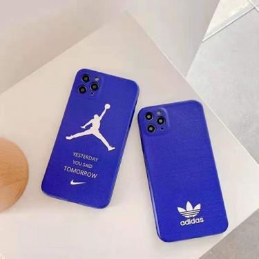 Adidas ナイキ iphone 12/12 pro/12 mini/12 pro max/11/11 pro/11 pro max/se2ケース ins風 ブランド アディダス Jordan ジョーダン Nike 激安 耐衝撃 アイフォンx/xs/xr/8/7カバー メンズ レディース